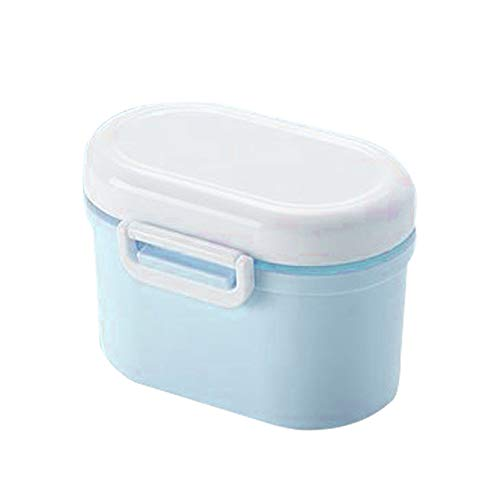 離乳食 保存容器 ミルクケース 粉ミルク デザートケース 可愛い 密閉容器 プラスチック シュガーポット 携帯 持ち運び お出かけ用