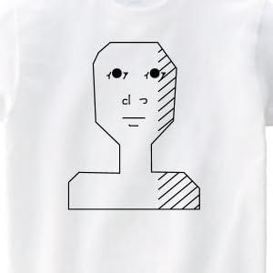 まが男 半袖Tシャツ ホワイトS