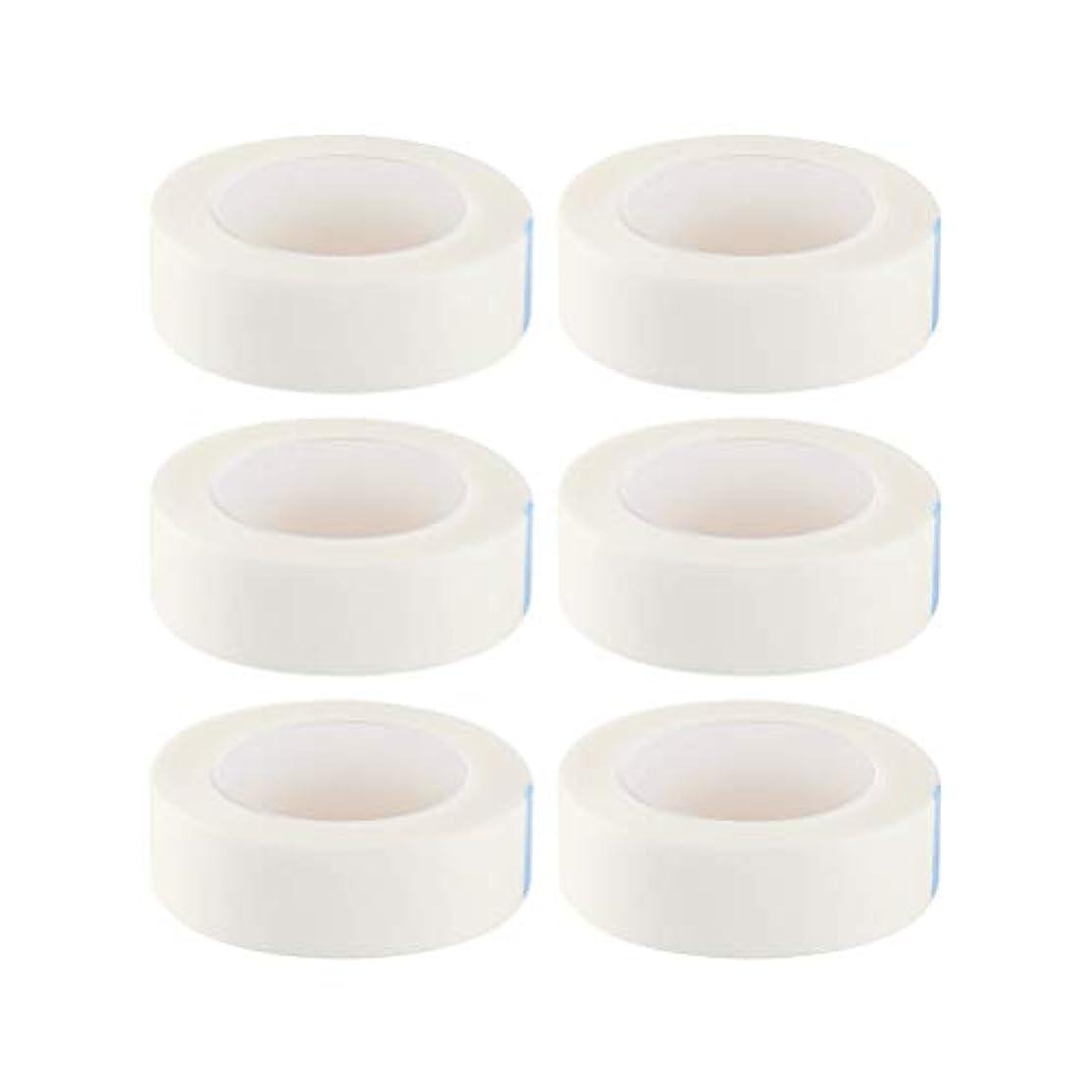 合計コメンテーター輝くHealifty 12ロール まつげテープ まつげエクステ 不織布テープ 接着ステッカー  睫毛 エクステンション