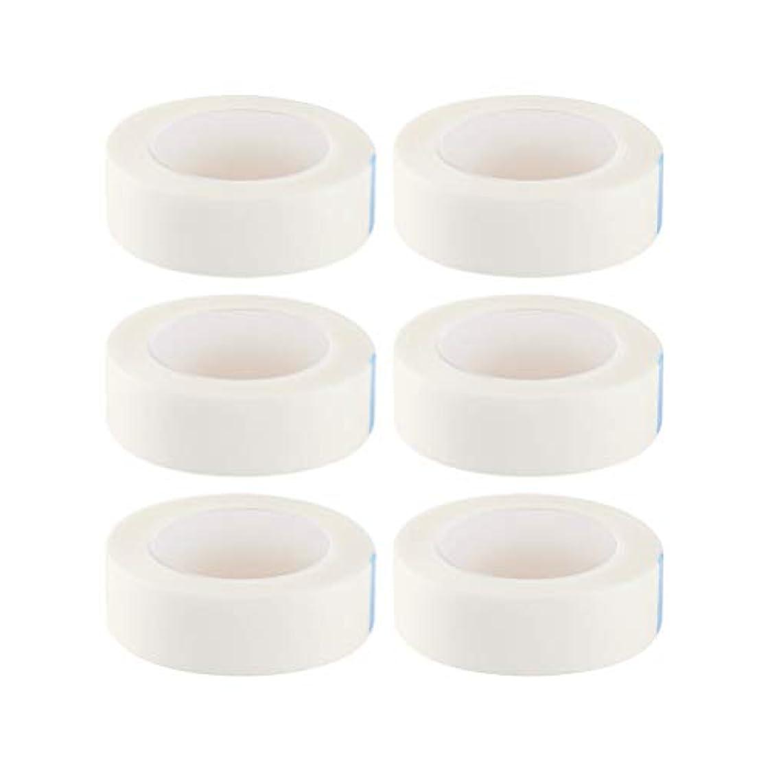 虹機転わずかにHEALIFTY まつげ絶縁テープまつげエクステサロン用ロール12個入り(白)
