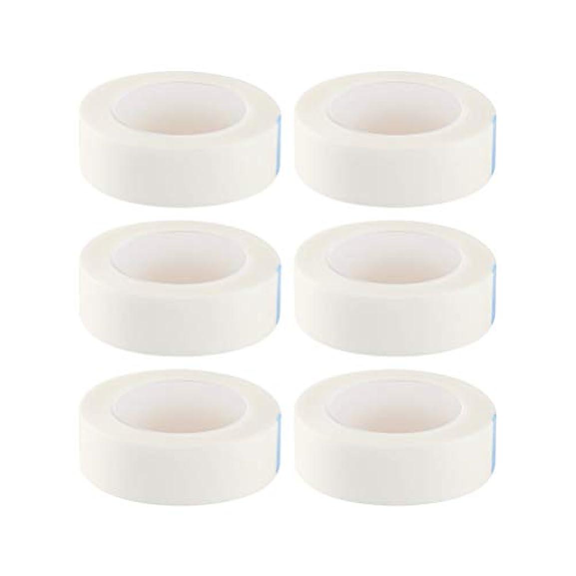 養う車両取り除くSUPVOX 12ロールまつげ絶縁テープまつげラッシュエクステンションテープ不織布医療用テープ医療用テープ(白)