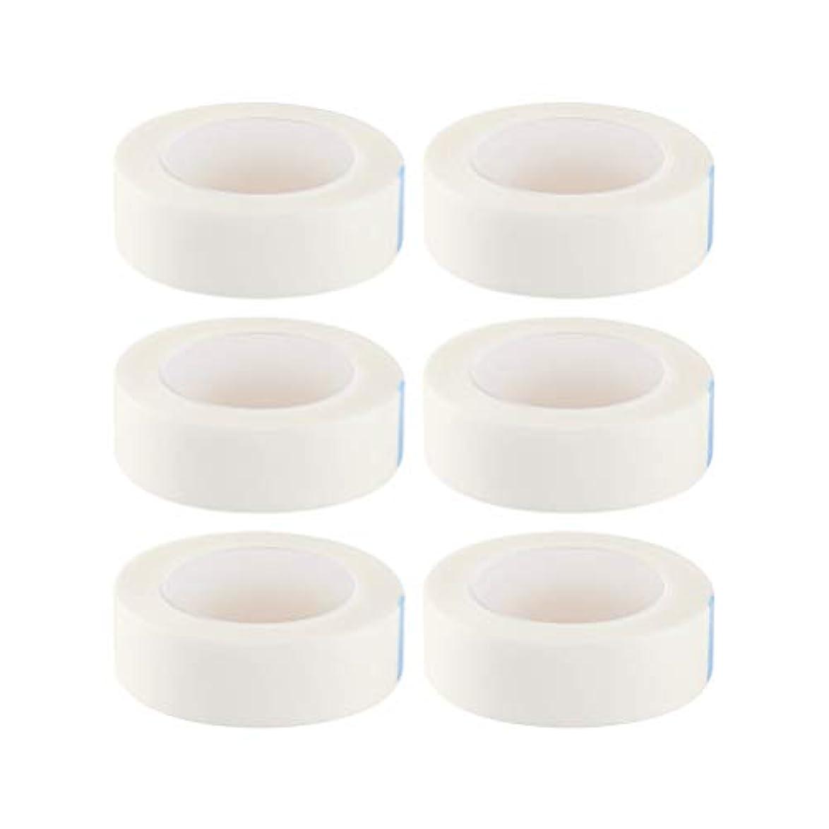 HEALIFTY まつげ絶縁テープまつげエクステサロン用ロール12個入り(白)