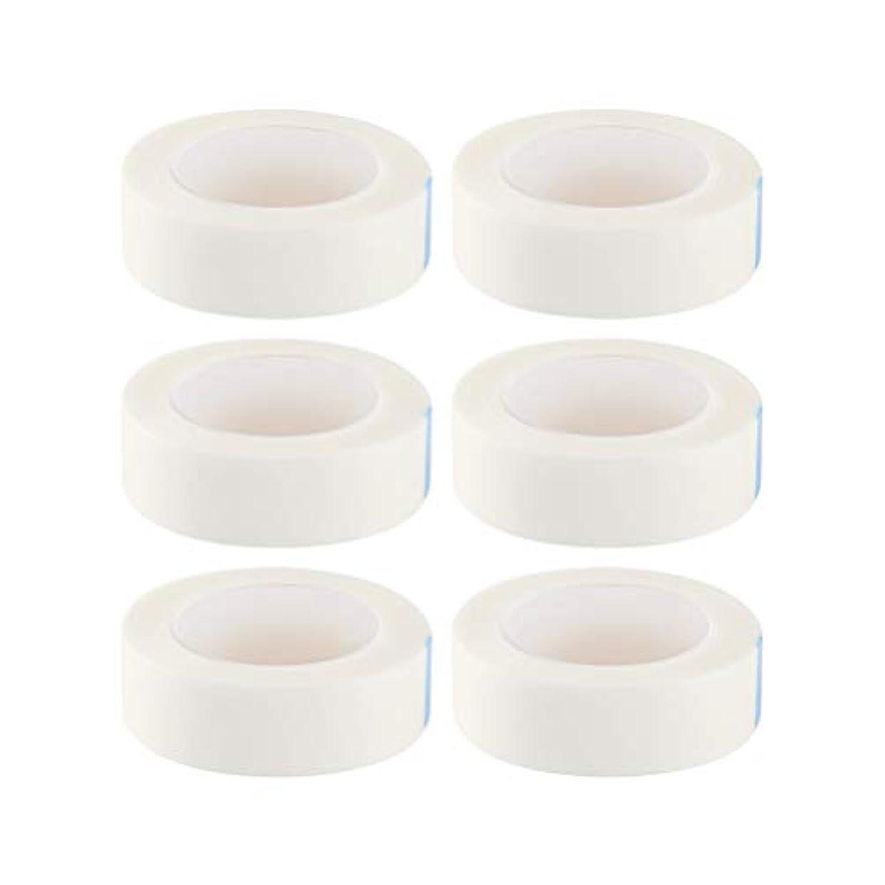中ブラウス抑制HEALIFTY まつげ絶縁テープまつげエクステサロン用ロール12個入り(白)