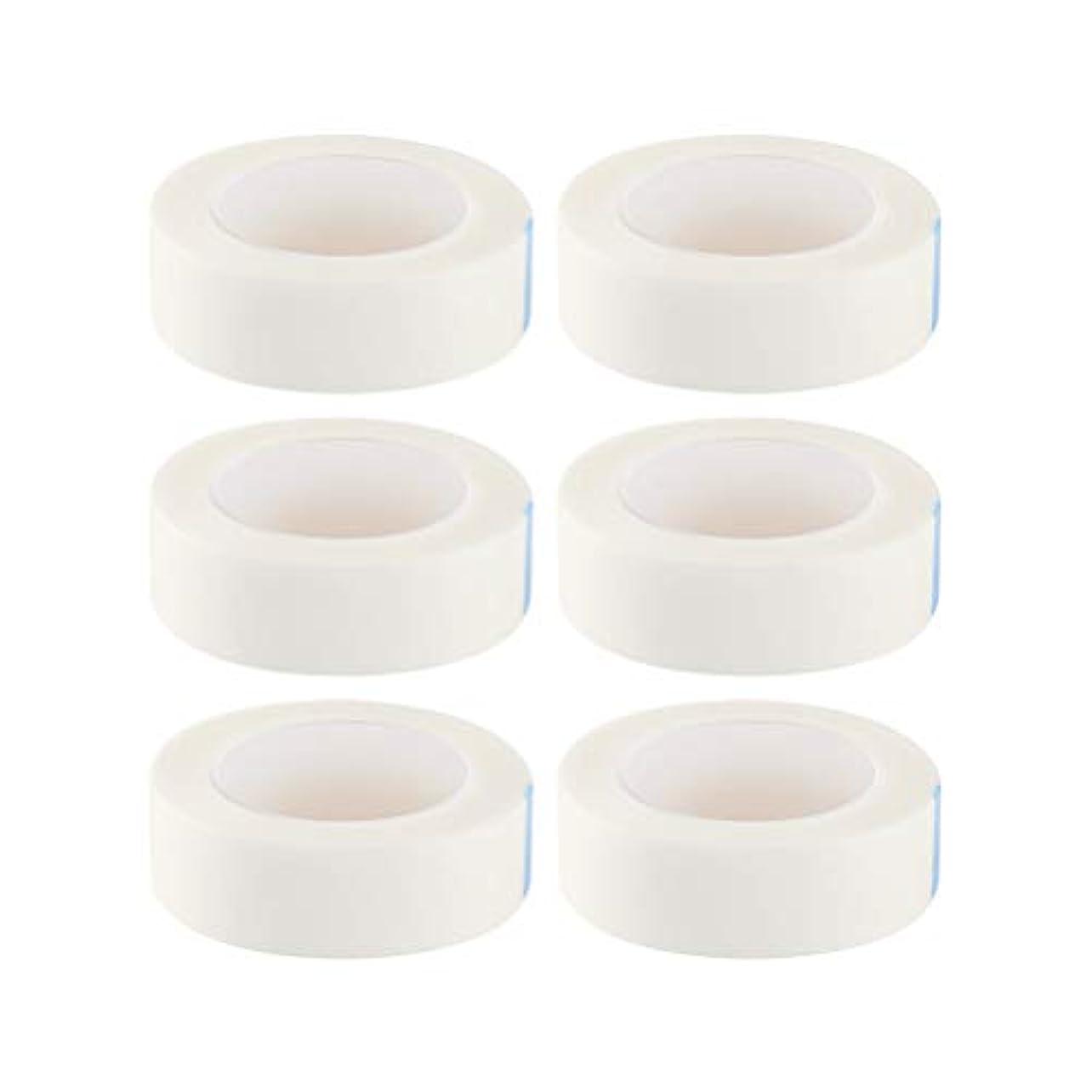 ミュート葡萄小学生HEALIFTY まつげ絶縁テープまつげエクステサロン用ロール12個入り(白)