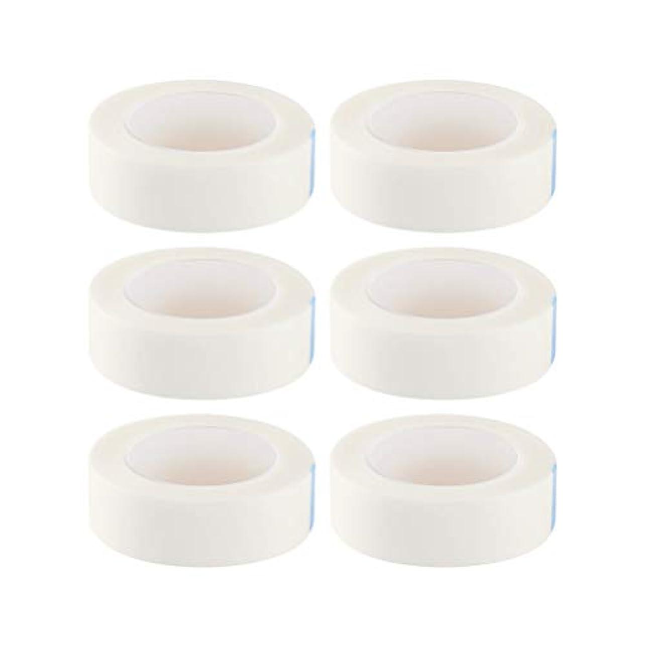 ペインモンスター年SUPVOX 12ロールまつげ絶縁テープまつげラッシュエクステンションテープ不織布医療用テープ医療用テープ(白)