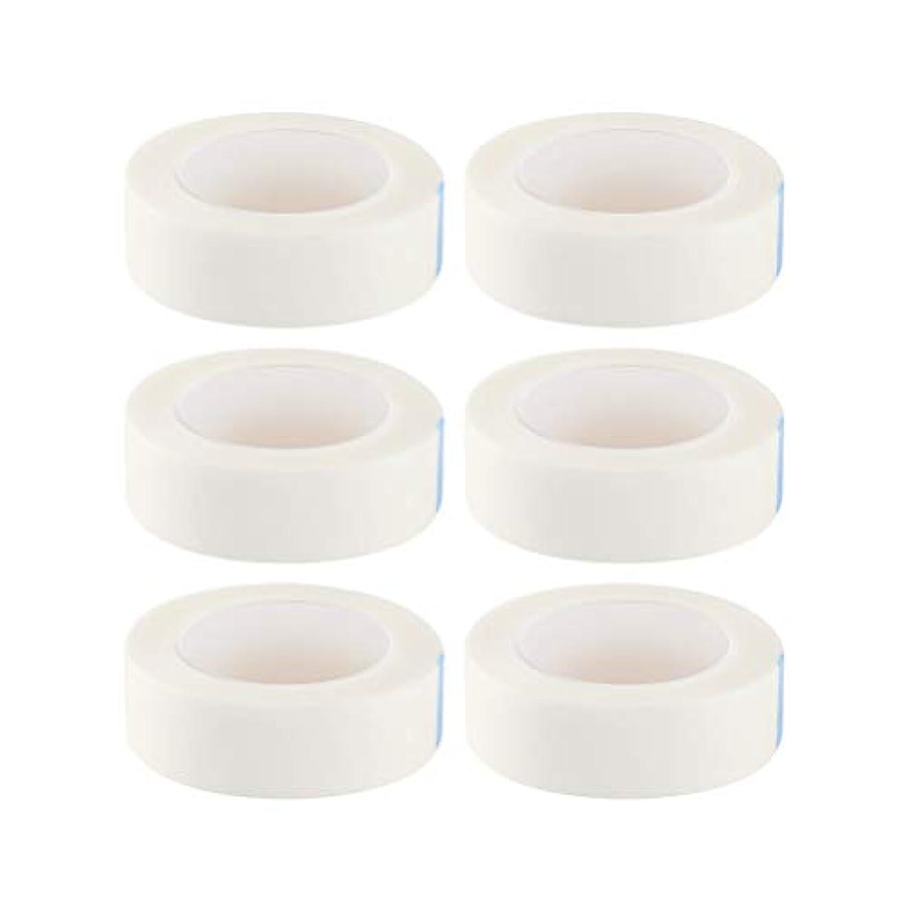 悪行無視するビバSUPVOX 12ロールまつげ絶縁テープまつげラッシュエクステンションテープ不織布医療用テープ医療用テープ(白)