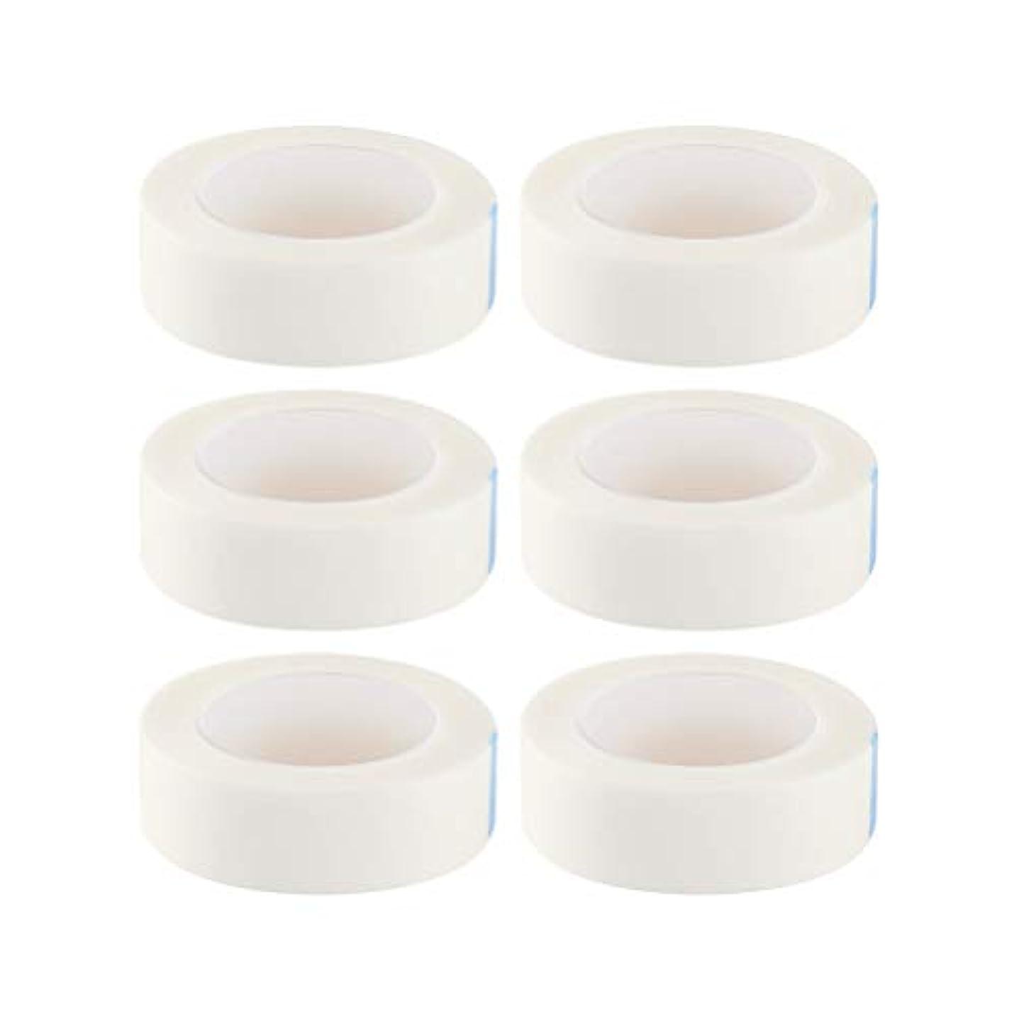 爆発物イル努力HEALIFTY まつげ絶縁テープまつげエクステサロン用ロール12個入り(白)