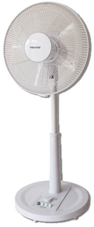 TEKNOS(テクノス) リビングメカ扇風機 30cm羽根 ホワイト KI-1775-W