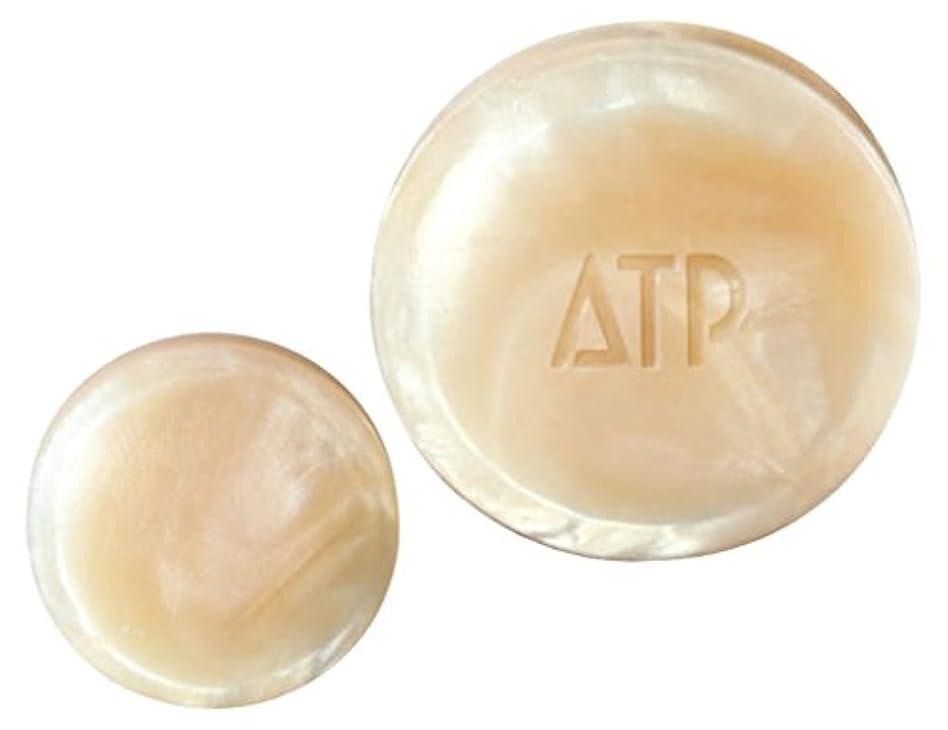 図バッテリー甲虫薬用ATP デリケアソープ 30g (全身用洗浄石けん?枠練り) [医薬部外品]