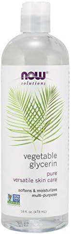 NOW Solutions Glycerine Vegetable, 16-Fluid Ounces