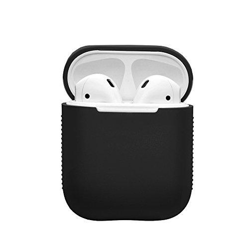 Kartice AirPods専用ケースカバー シリコン保護カバー 収納ケース 傷防止 耐衝撃 AppleワイヤレスイヤホンAirPods対応 (クラック)