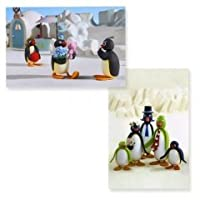 ピングー ポストカード2枚セット 写真柄 PINGU