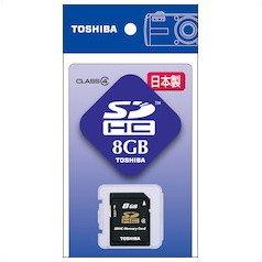 東芝 SDメモリカード SD‐8G
