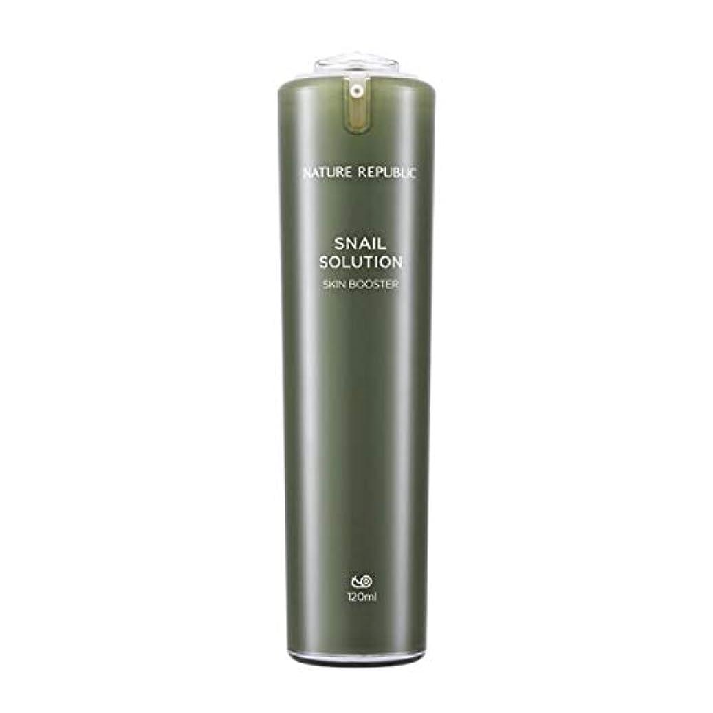 信者宿エージェントネイチャーリパブリック(Nature Republic)カタツムリソリューションスキンブースター 120ml / Snail Solutions Skin Booster 120ml :: 韓国コスメ [並行輸入品]