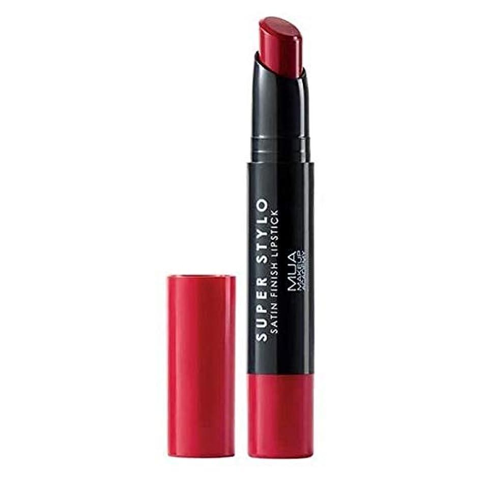 もっと少なく複合前置詞[MUA] MuaスーパーStylo口紅ファーストクラス008 - MUA Super Stylo Lipstick First Class 008 [並行輸入品]