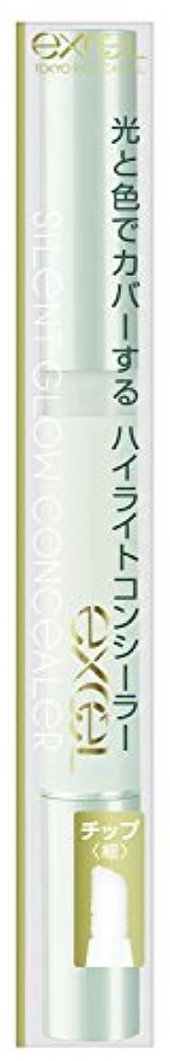 イースタープレゼン不潔エクセル サイレントグロウコンシーラーSG03 ミントグロウ