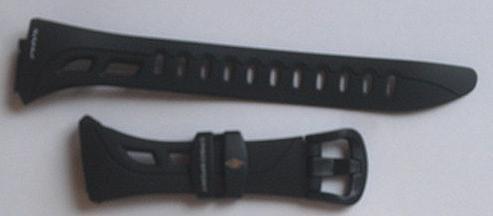 交換用ブラックバンドrft-100Casio腕時計