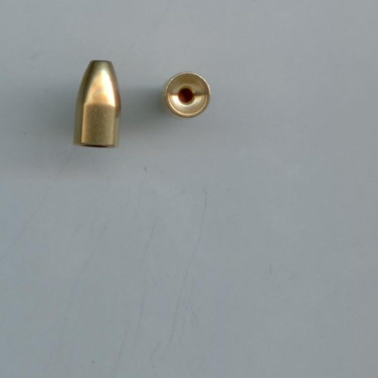 十分変換するバランスのとれた1 /16oz真鍮Bullet Sinkers, 10 per pack by S & J 'sタックルボックス