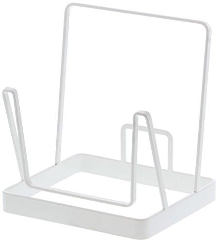 山崎実業 布団クリーナースタンド プレート ホワイト 約W16XD14XH18cm Plate 3552