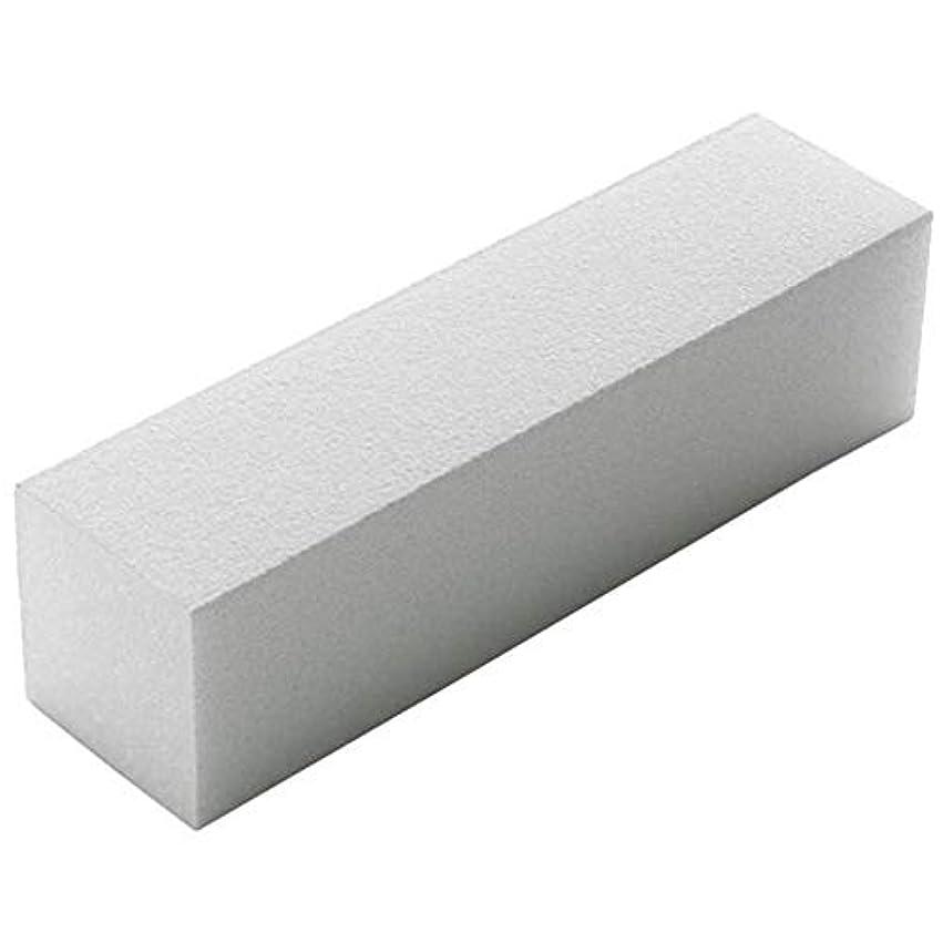 アイデア蒸発サンドイッチ1PC白ネイルバッファブロック4ウェイネイルファイルバッファ研磨爪は、サロンや家庭での使用のためにペディキュアネイルのヒントツールキットをマニキュア