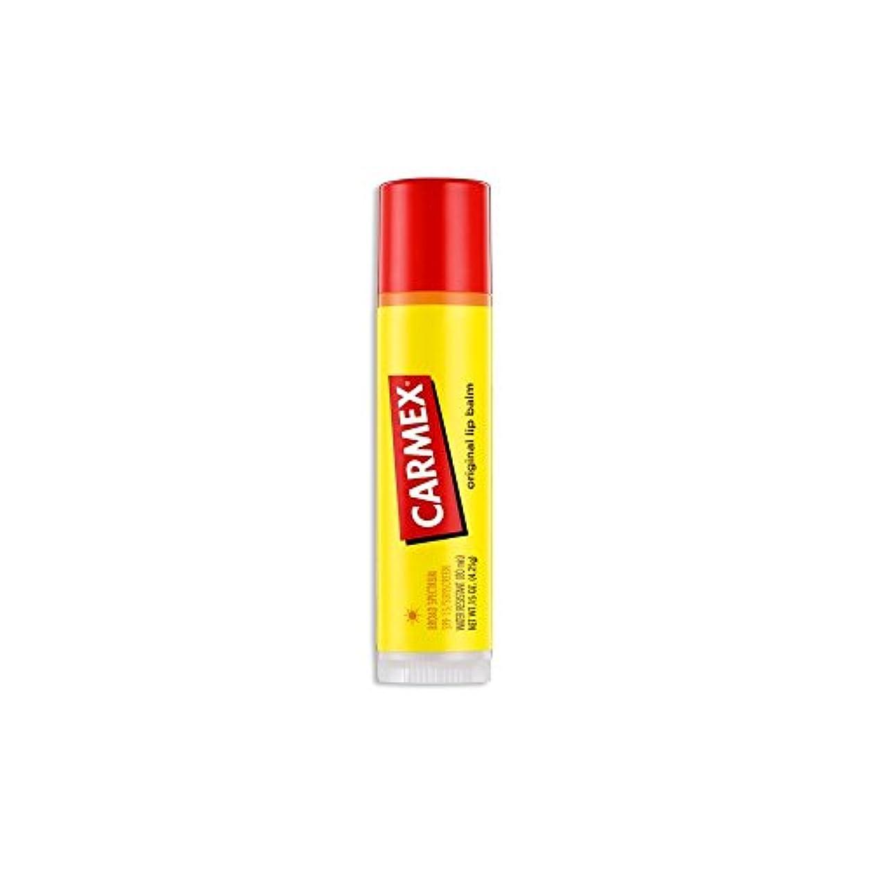 火山学団結する保険をかける(3 Pack) CARMEX Original Flavor Sticks Original (並行輸入品)
