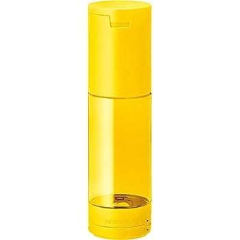 キングジム ペンケース 倒れない ペン立て オクトタツ 黄色 2566キイ