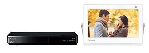 パナソニック 10V型 ポータブル液晶テレビ 防水タイプ 500GB ブルーレイディスクプレイヤー/HDDレコーダー付き プライベート・ビエラ ホワイト UN-10TD6-W