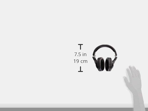 『audio-technica オーディオテクニカ プロフェッショナルモニターヘッドホン ATH-M20x スタジオレコーディング / 楽器練習 / ミキシング / DJ / ゲーム』の6枚目の画像