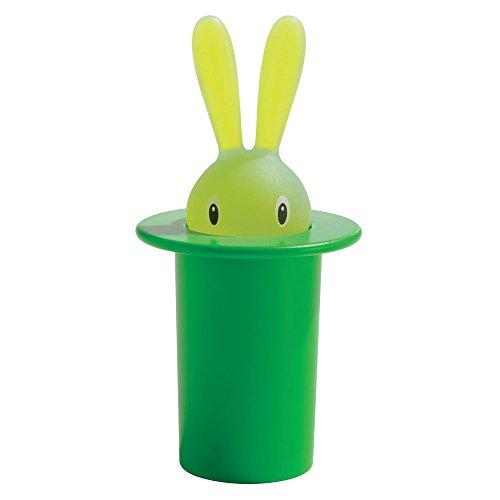 RoomClip商品情報 - 【正規輸入品】 ALESSI アレッシィ Magic Bunny マジックバニー 爪楊枝入れ / グリーン ASG16 GR