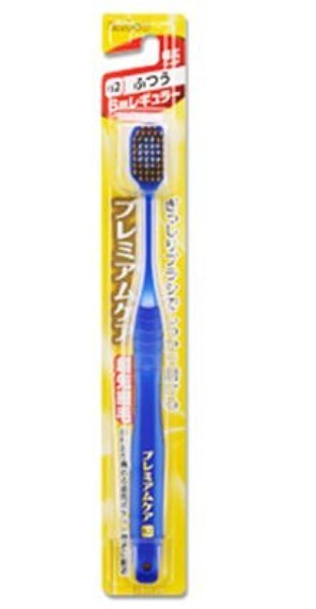 電子真鍮モードリンエビス 歯ブラシ プレミアムケア 6列レギュラー ふつう12本セット