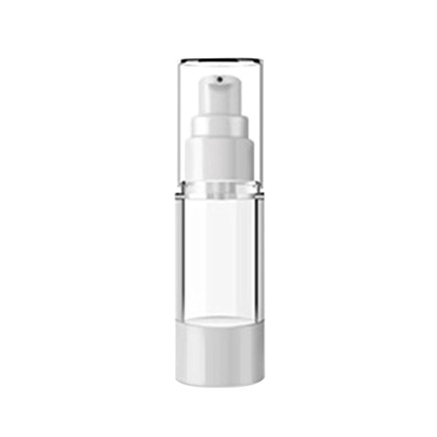 暗くするサラダクマノミVi.yo 小分けボトル スプレーボトル 押し式詰替用ボトル コスメ用詰替え容器 携帯便利 出張 旅行用品 スタイル1 3本セット 15ml