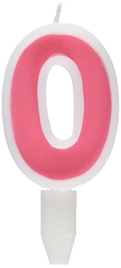 リレー先見の明思いやりナンバーキャンドルビッグ 0番 「 ピンク 」 10個セット 75510700PK