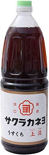 吉村醸造 サクラカネヨ 上淡 醤油 1.8L ×2本