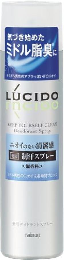 混合行商明らかにするLUCIDO (ルシード) 薬用デオドラントスプレー (医薬部外品) 150g
