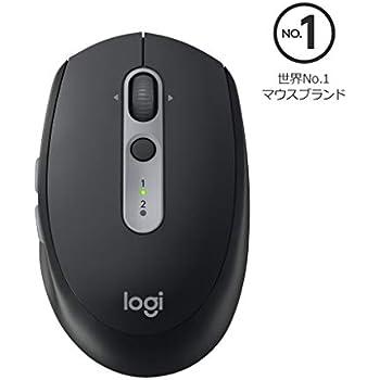 Logicool ロジクール M590GT ワイヤレスマウス 無線 静音 Unifying 7ボタン 電池寿命最大24ケ月 M590 グラファイトトーナル 国内正規品 2年間