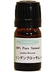 リンデンブロッサム 5ml 100%天然アロマエッセンシャルオイル(精油)