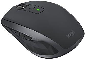 Logicoolロジクール MX1600sGR ANYWHERE 2S ワイヤレス モバイルマウス グラファイト FLOW Bluetooth/USB接続 Windows・Mac対応 レーザー採用