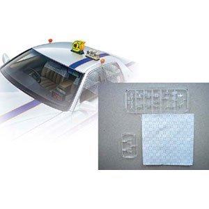 1/24 Sパーツ タイヤ&ホイールセット No.91 個人タクシーパーツセット (でんでん行灯型)
