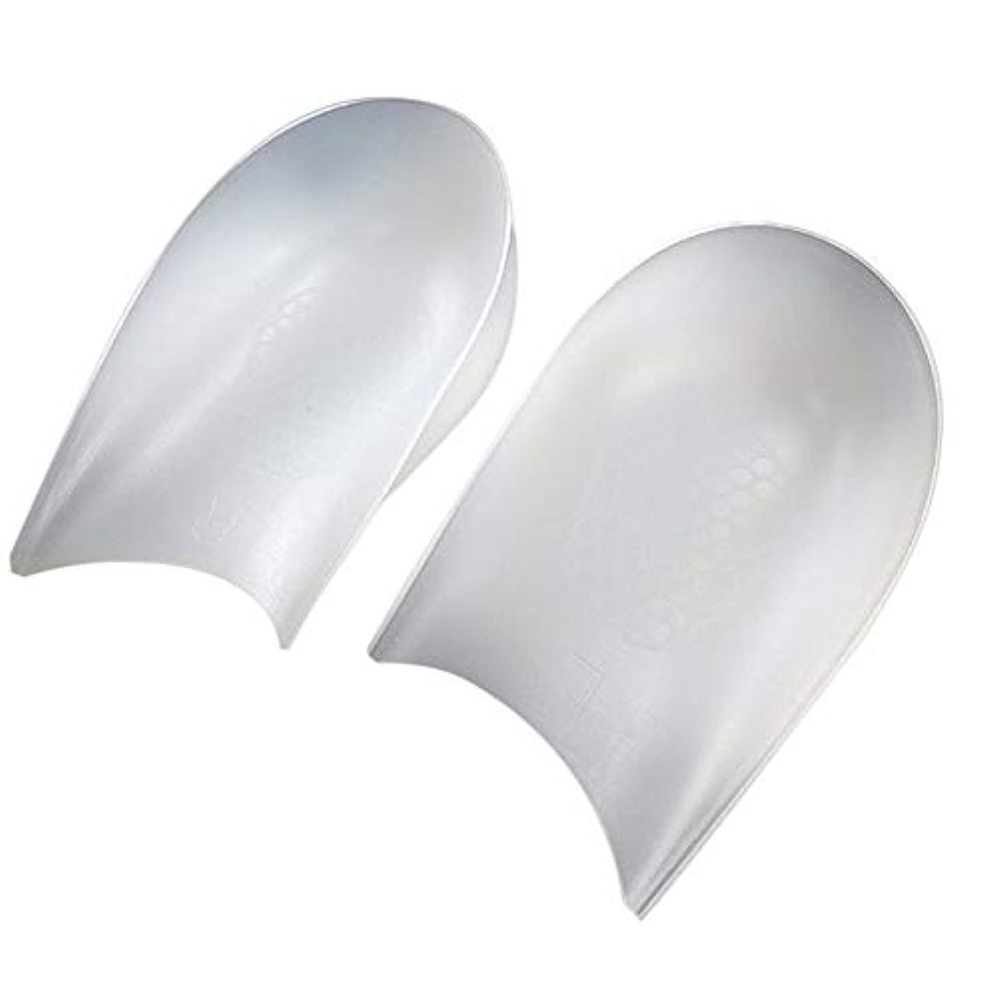 舌なショルダーフリルLOCKYOU 目に見えない高さのリフトヒールパッドライナーにより、インソールの衝撃吸収性シリコンヒールパッド1ペア