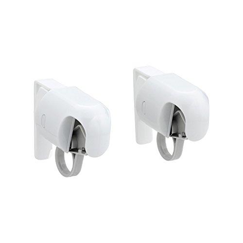 [해외]아침 신설계 원터치 도어 수건 클립 (걸어) 2 개들이 B00074/REC new design Towel clip for one touch door (hooking) 2 pieces B00074