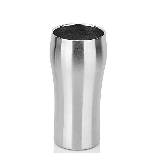 サーモスマグステンレス鋼二重壁真空断熱水がコーヒー牛乳430ミリリットルのビールタンブラーカップコーヒーマグスーツボトル