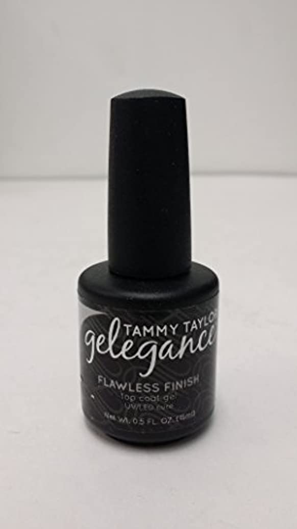 ワイプ居間有能なTammy Taylor - Gelegance Flawless Finish - 0.5 Oz / 15 mL