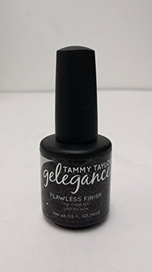 ワイプ居間有能なTammy Taylor - Gelegance Flawless Finish - 0.5 Oz / 15 mL