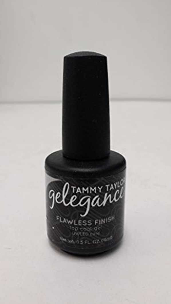 すぐに慣れる懐疑論Tammy Taylor - Gelegance Flawless Finish - 0.5 Oz / 15 mL