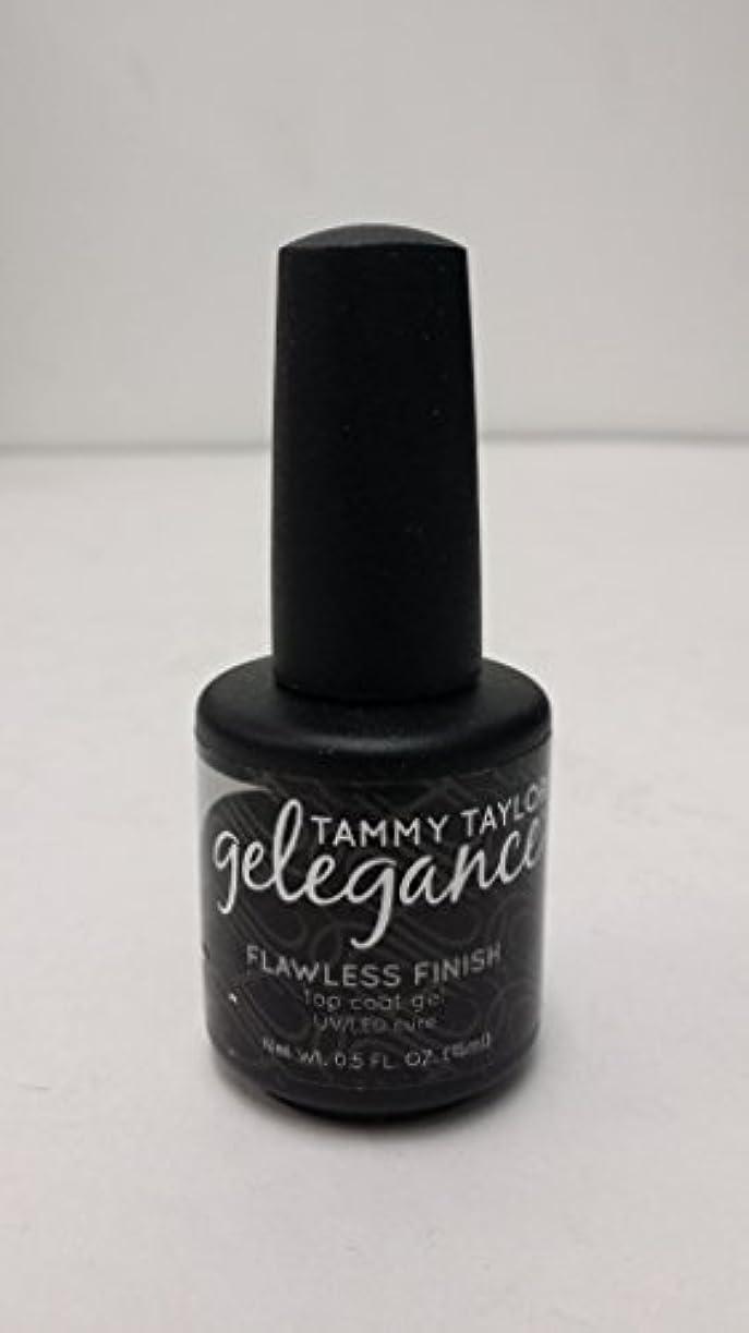 見かけ上比べるニックネームTammy Taylor - Gelegance Flawless Finish - 0.5 Oz / 15 mL