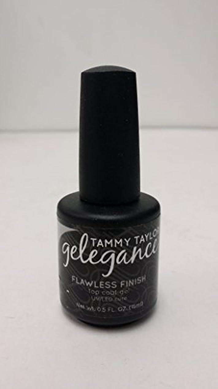 偶然のトリクルTammy Taylor - Gelegance Flawless Finish - 0.5 Oz / 15 mL