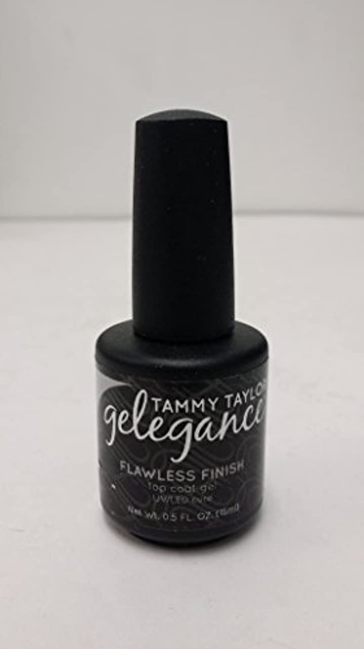 孤独な政治家の極めてTammy Taylor - Gelegance Flawless Finish - 0.5 Oz / 15 mL