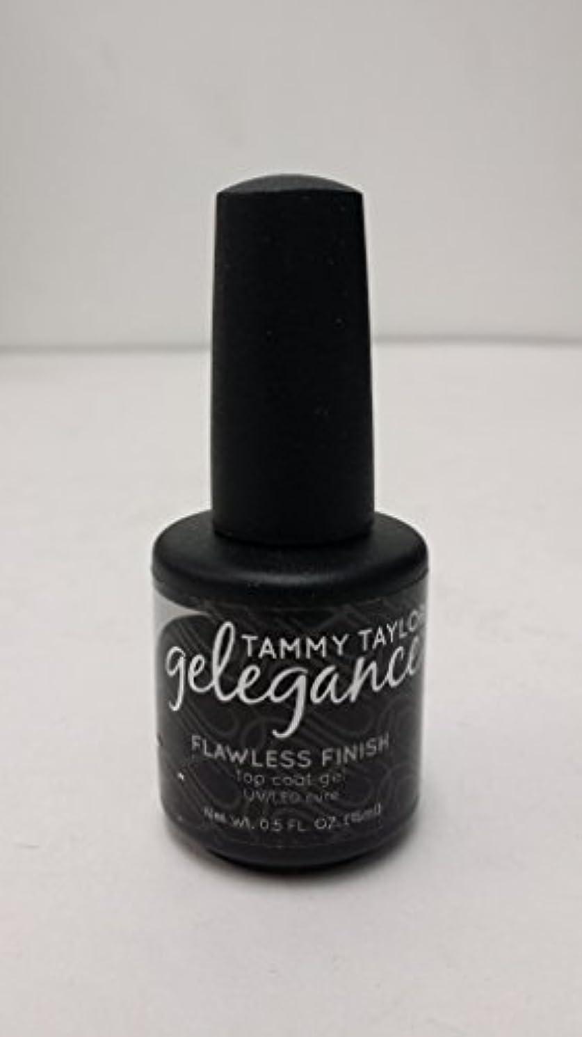 乱すコンプリート抜本的なTammy Taylor - Gelegance Flawless Finish - 0.5 Oz / 15 mL