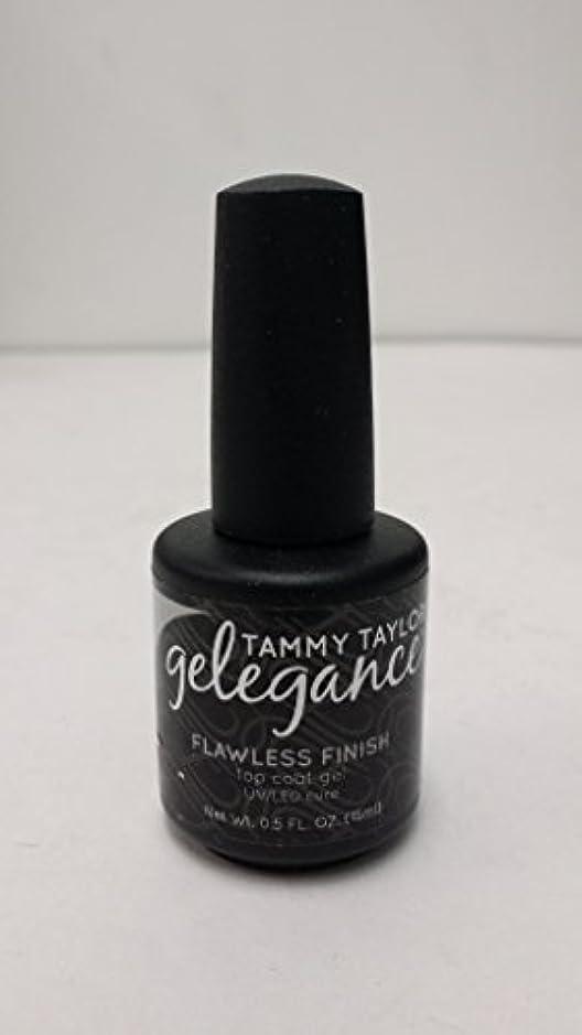 位置づけるびっくりするメナジェリーTammy Taylor - Gelegance Flawless Finish - 0.5 Oz / 15 mL