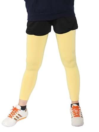 (パネットワン)pane(t)one ランニングウェア レディース 吸汗速乾レギンス10分丈 イエロー L~LLサイズ ランニングレギンス ジョギング スポーツウェア